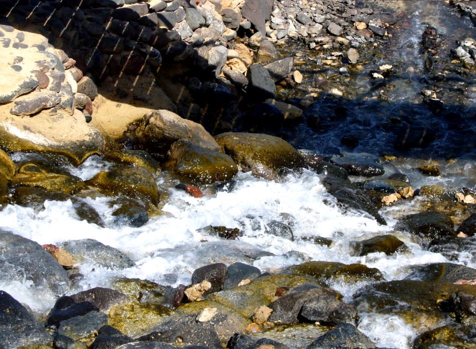 Rauschender Wasserfall