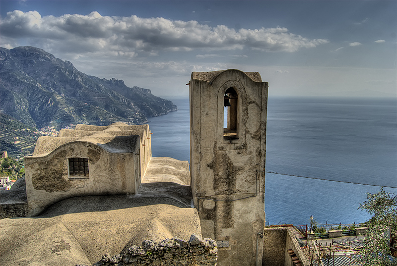 Ravello, the road to Amalfi