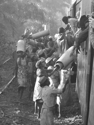 Ravitaillement train