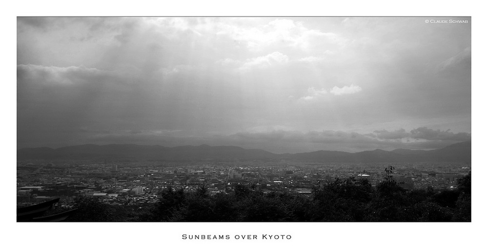 Rayons de soleil sur Kyoto