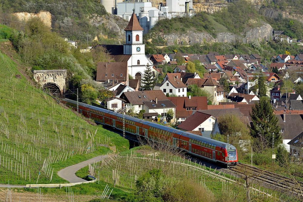 RB nach durchfart des Kirchbergtunnel
