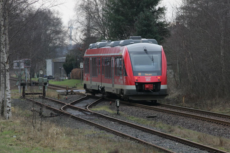 RB nach Husum zwischen Schleswig und Husum