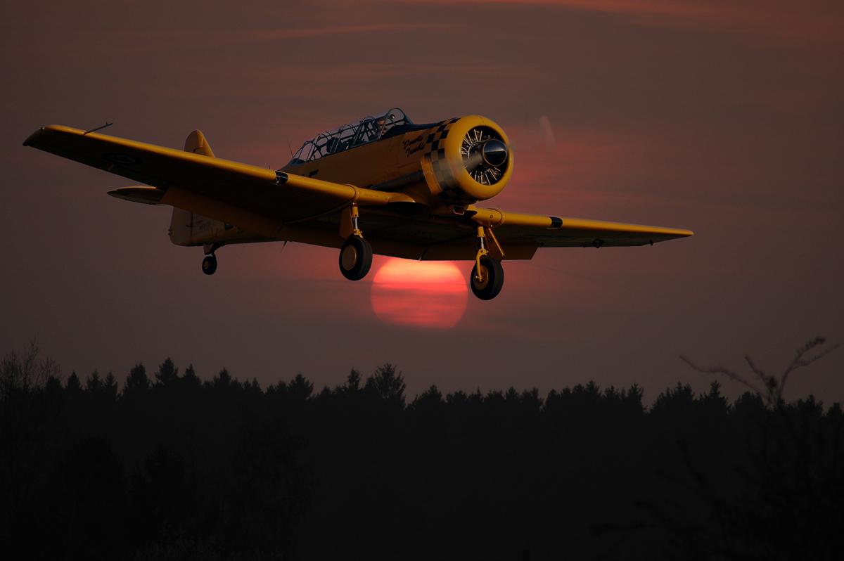 RCAF Harvard MK.IV - N59TS