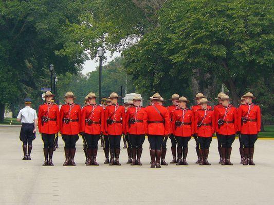 RCMP Canadas Elite Polizei