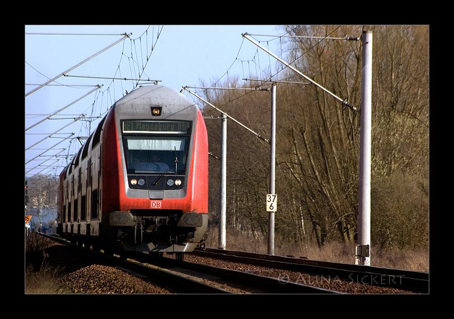 RE 1 nach Magdeburg