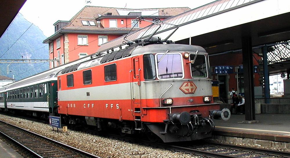 """Re 4/4 II """"Swiss Express"""""""