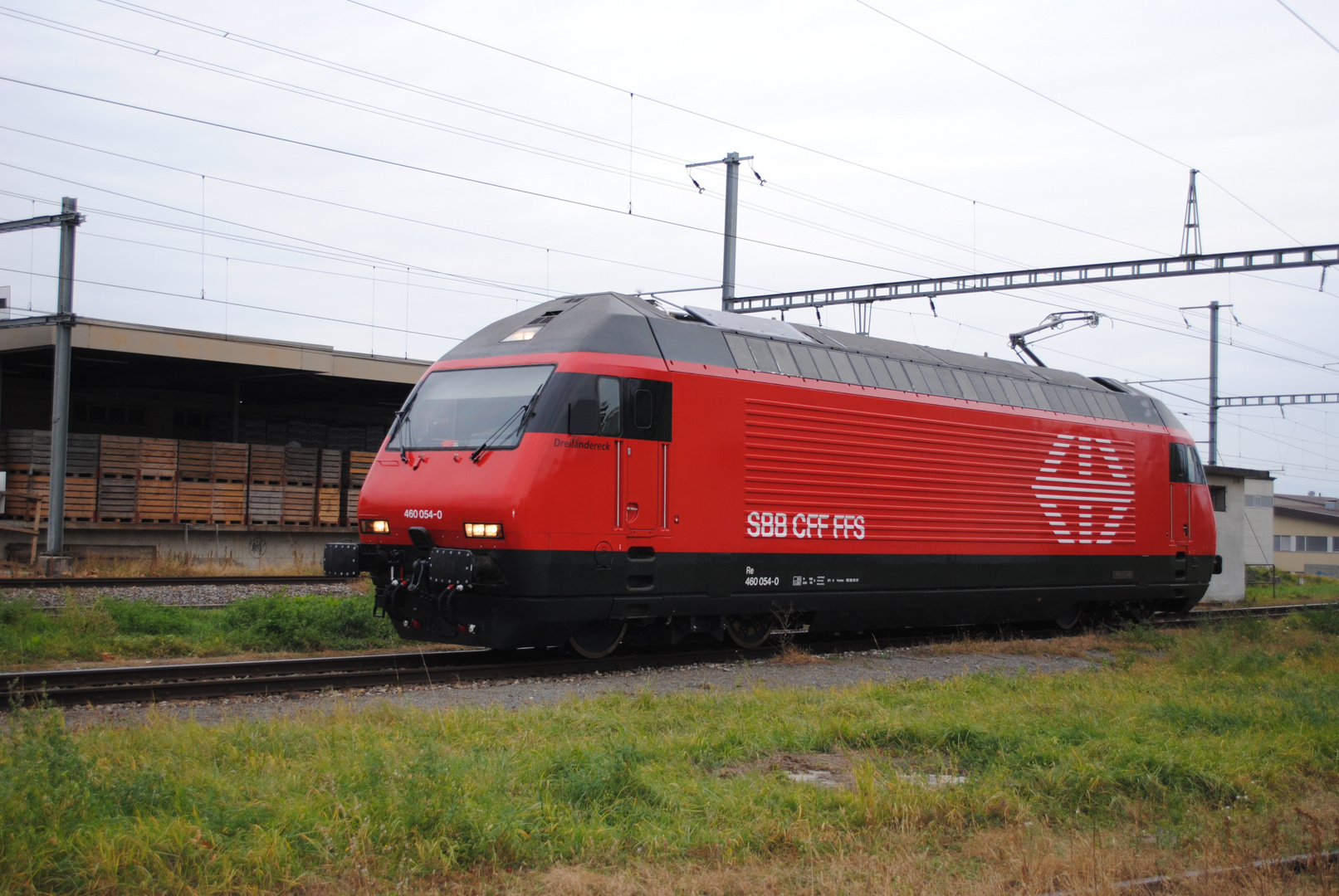 Re 460 gare Payerne