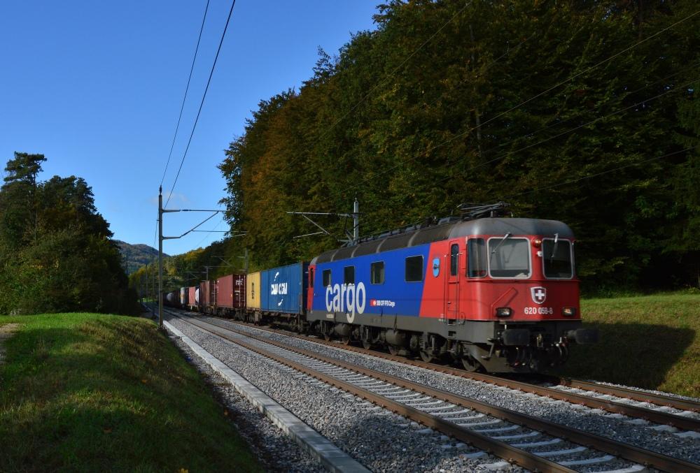 Re 620 bei Umiken