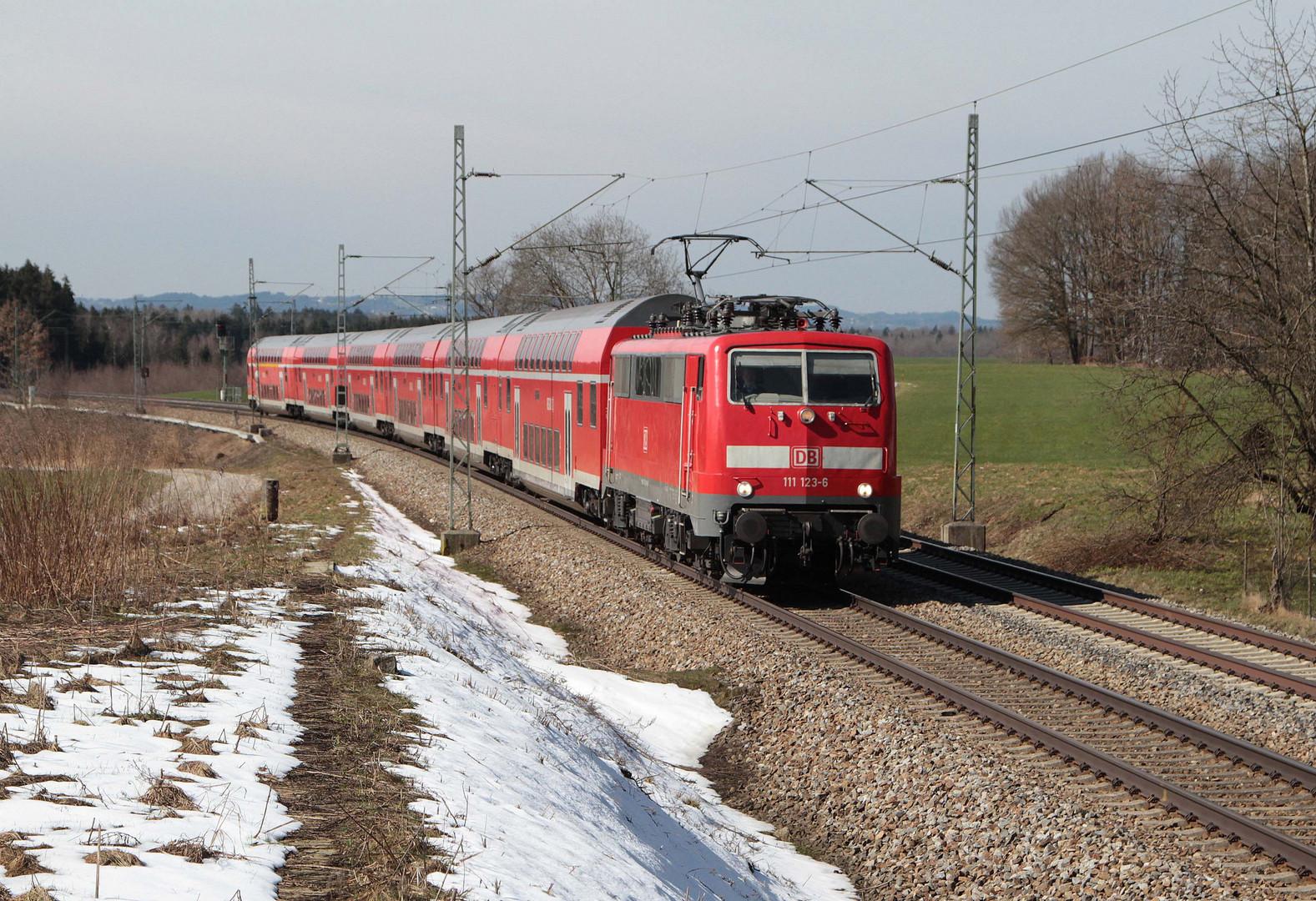 RE durch den Chiemgau