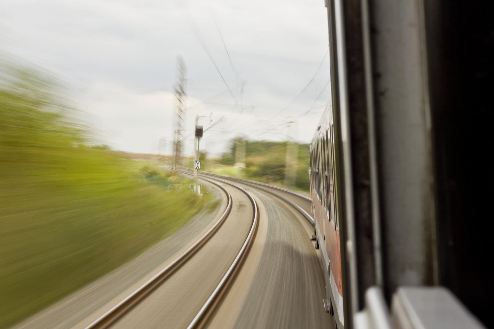 RE von Würzburg Hbf nach Treuchtlingen