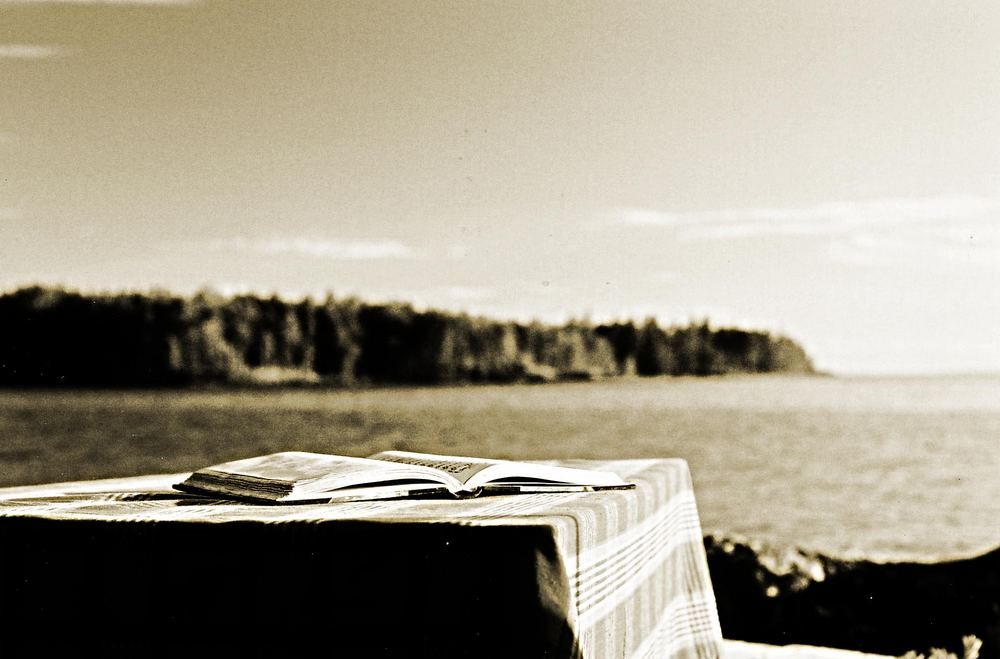 Reading by Nature :-)