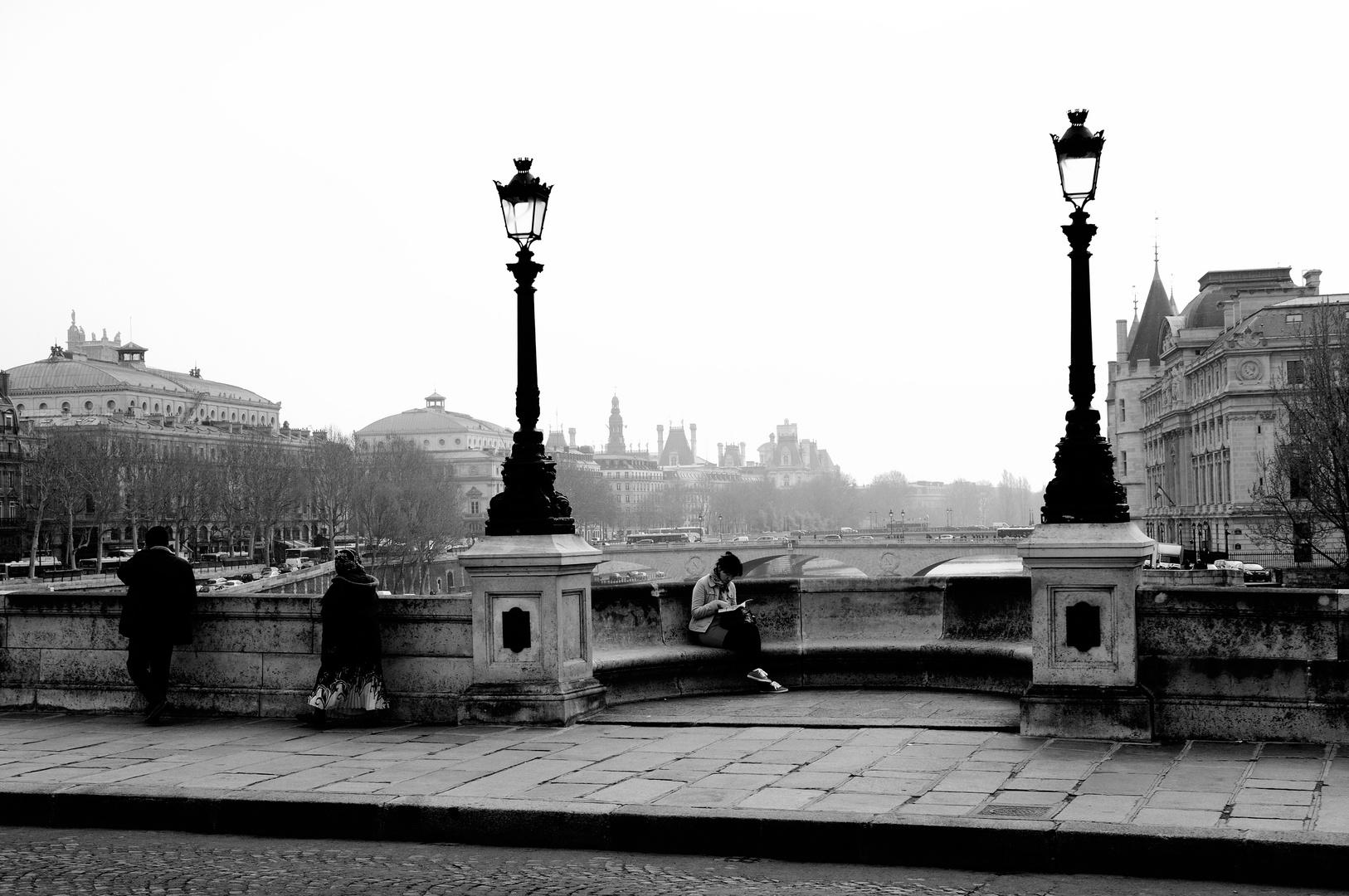 Reading in Paris