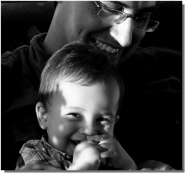 real love.....*****...............father and son