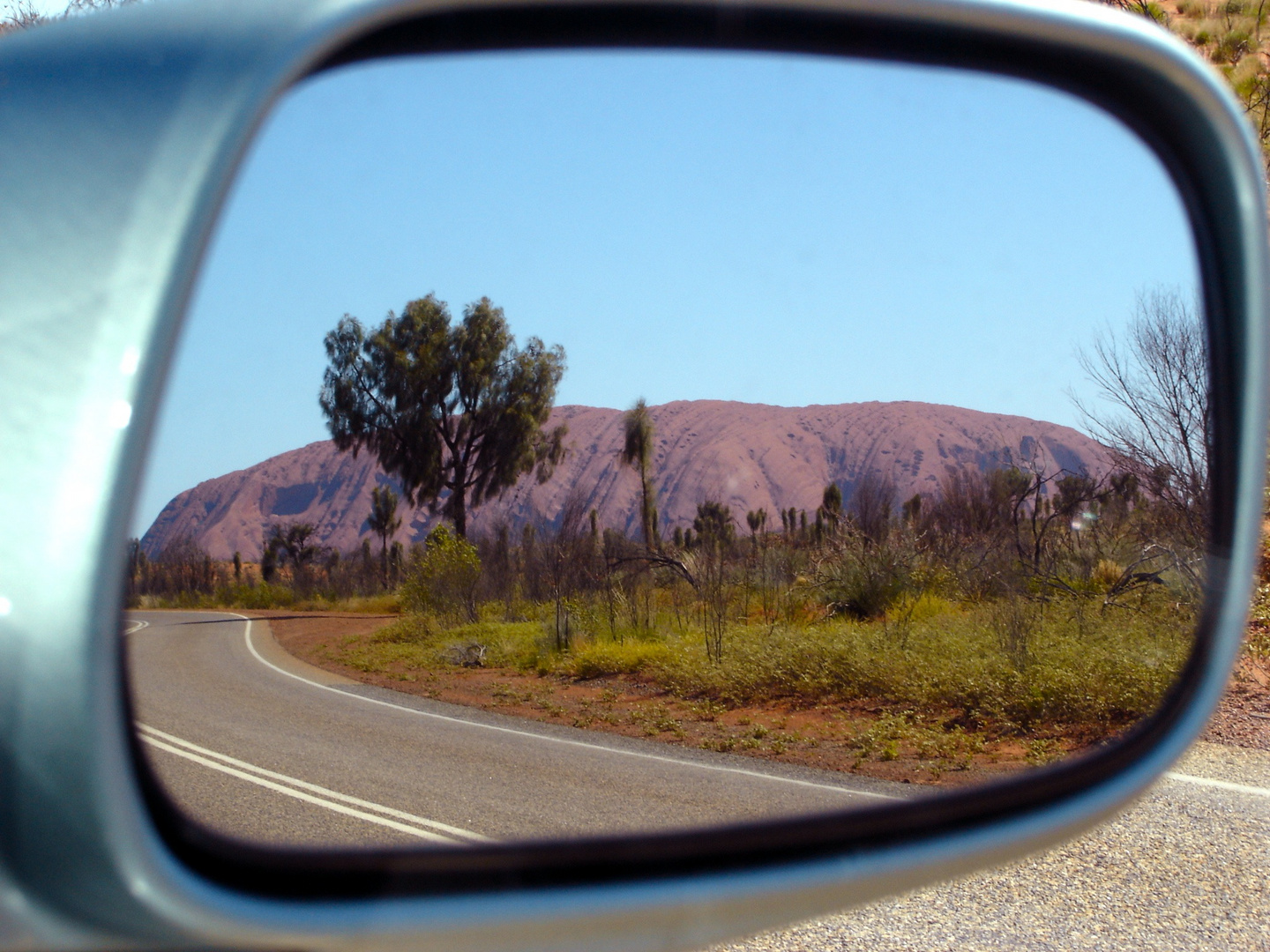 rearview - Ayers Rock