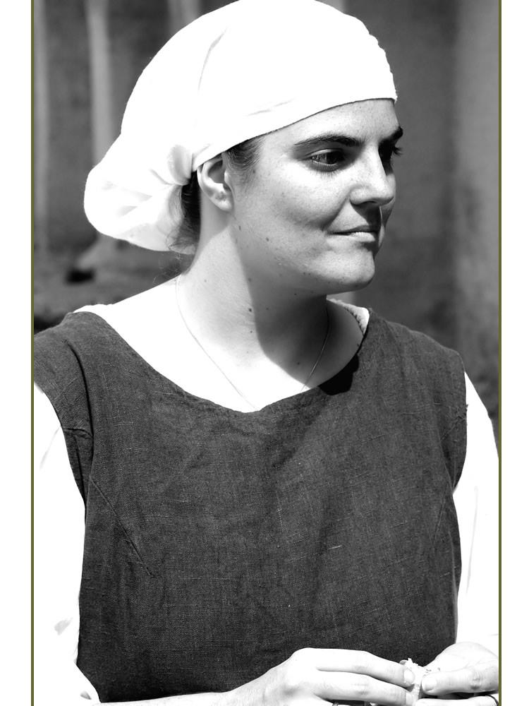 Rebekka an einem Mittelalterfest