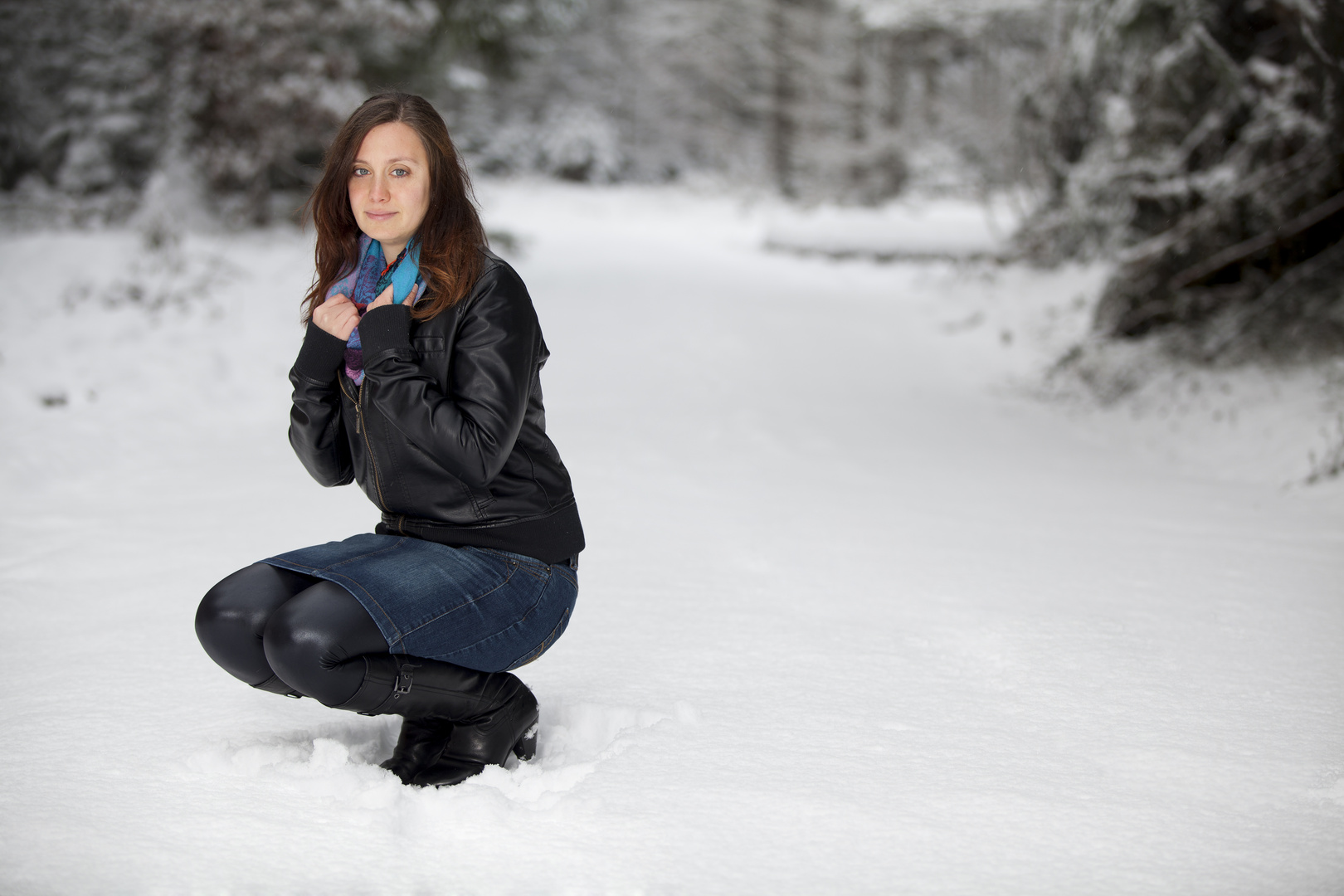 Rebi im Schnee 3