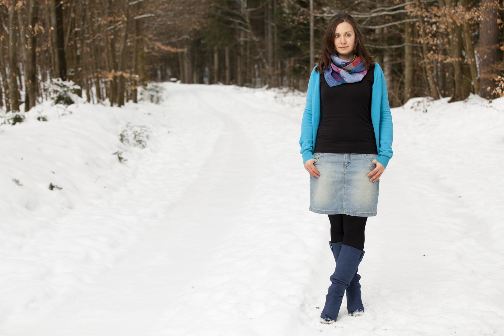 Rebi im Schnee Teil 2 . . .