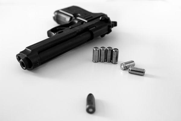 Reck Miami 92F Schreckschuss Pistole 9mm #3