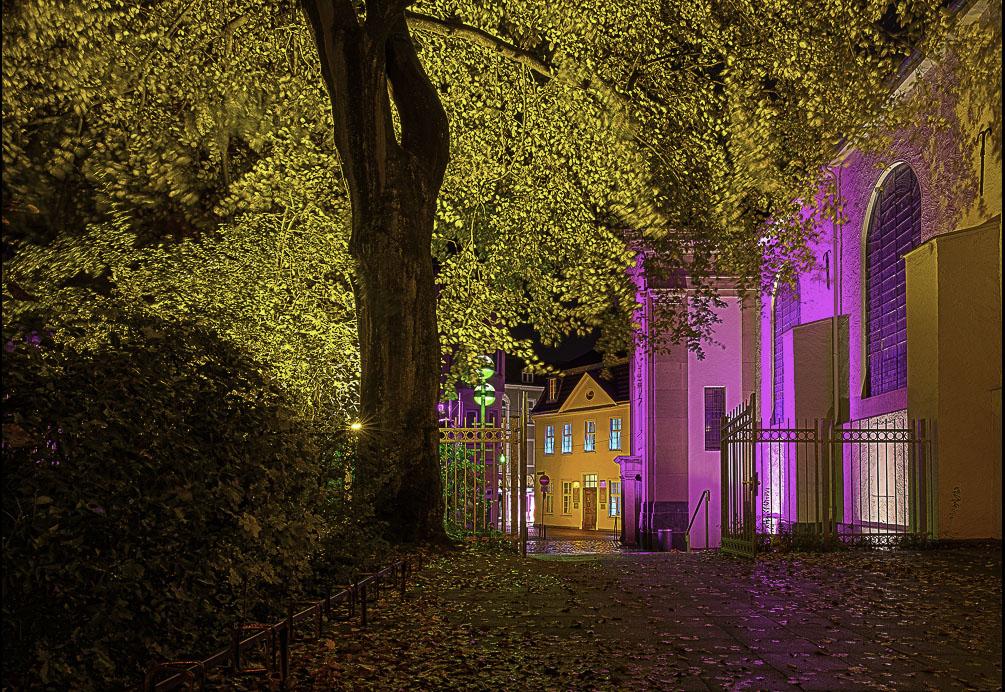 Recklinghausen leuchtet, Gymnasialkirche