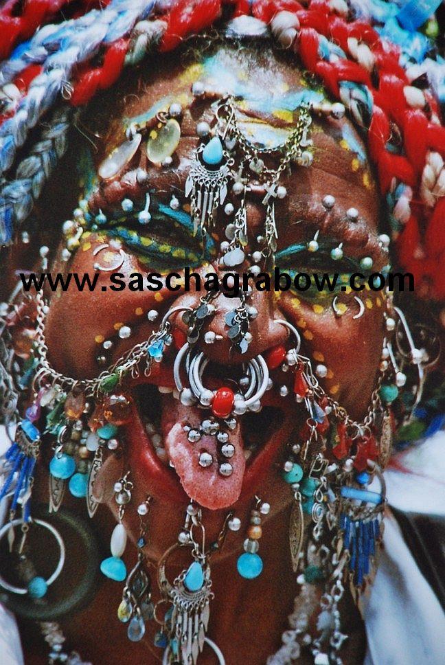Record Pierced Woman, Caribbean