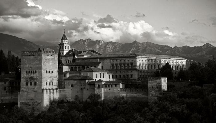 Recuerdos de la Alhambra VIII La última luz