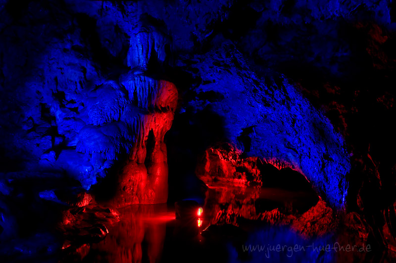 Red and Blue Cave