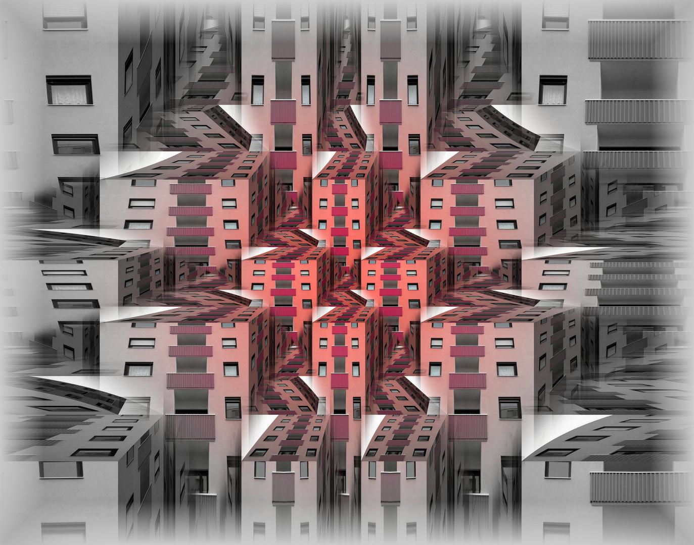 Red Balconies II
