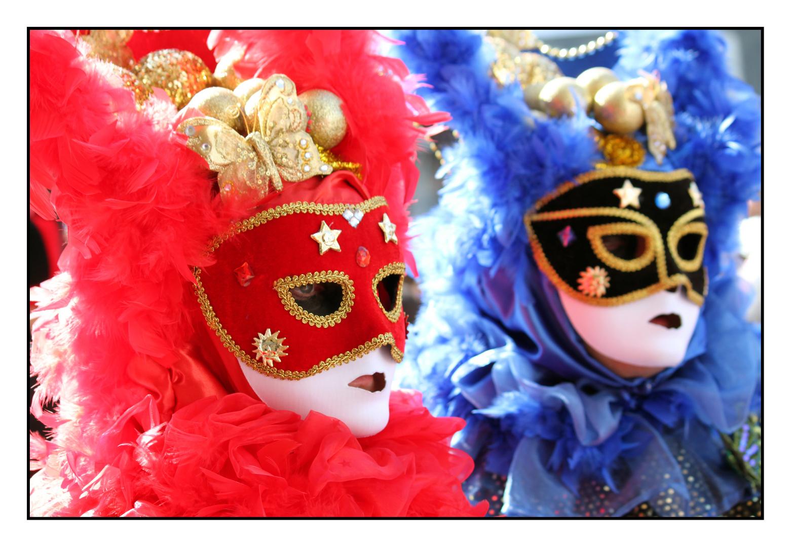 Red & Blue - Carnevale Venezia 2011