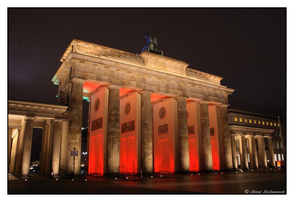 Red Brandenburger Tor