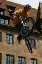 Red Bull District Ride in Nürnberg