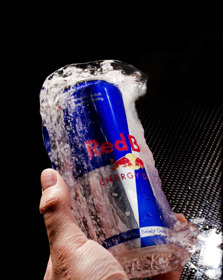 Red Bull on ice!