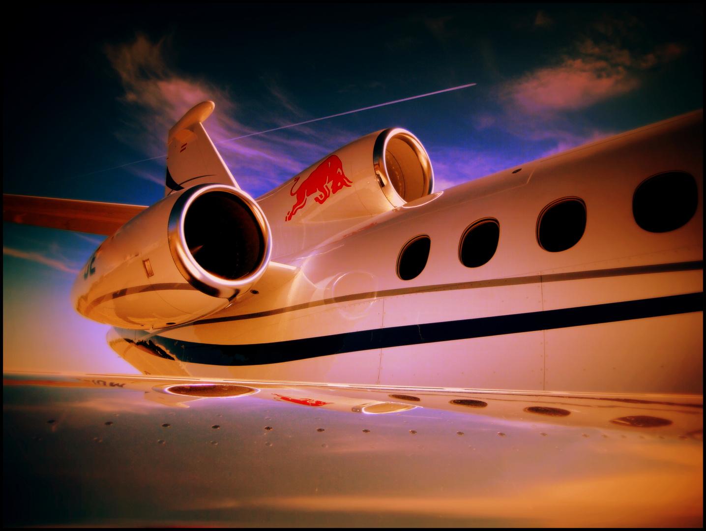 Red Bull...verleiht Flügel!