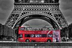 ***Red Bus in Paris***