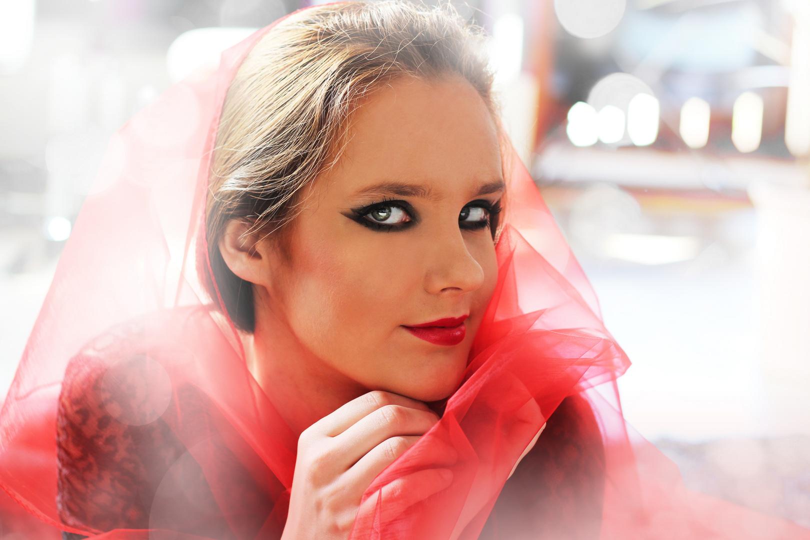 Red Dreams // Model Doreen Bassing