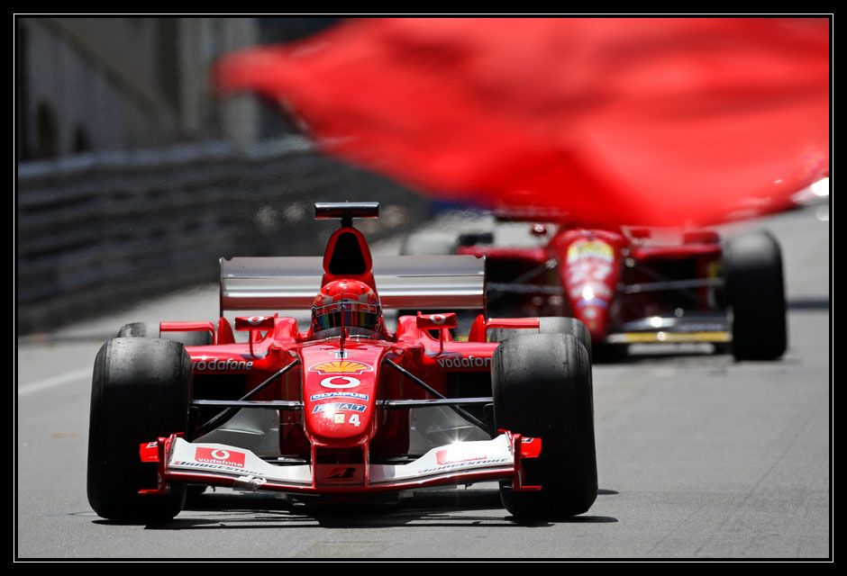 Red flag for red cars