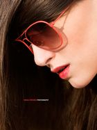 red glasses!