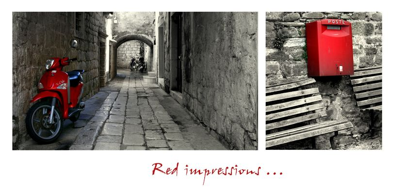 red impressions ...