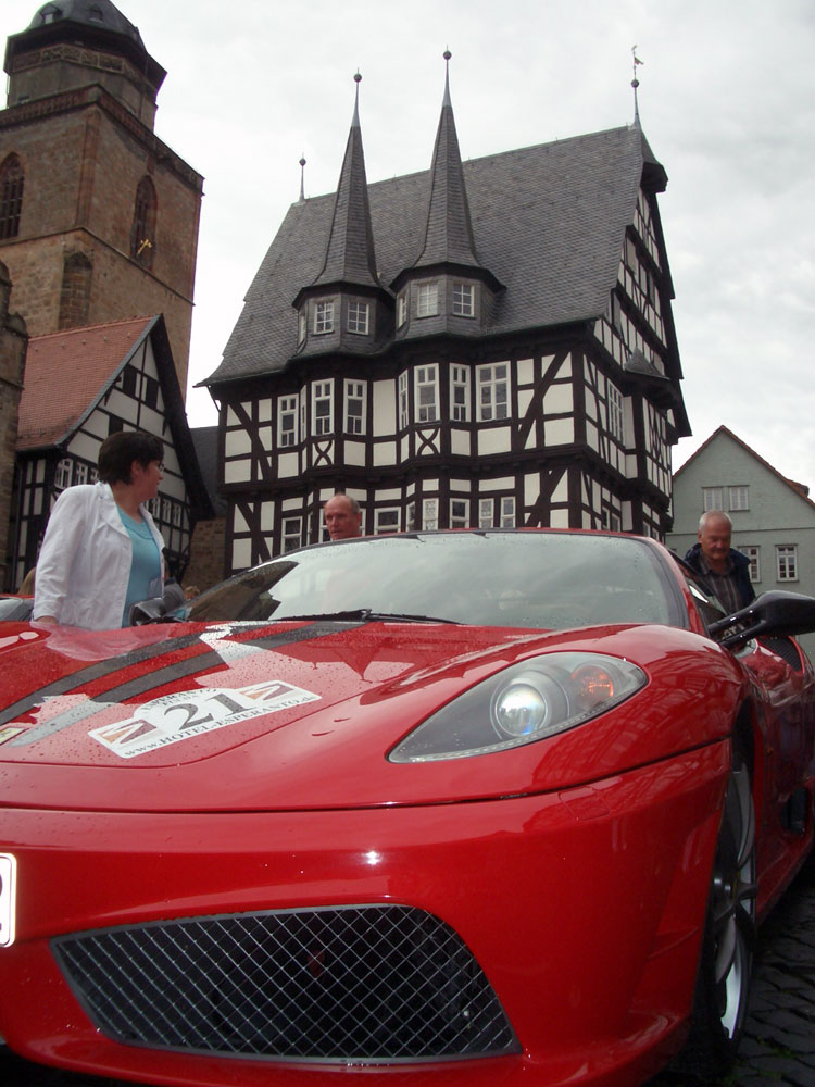 Red light in Alsfeld