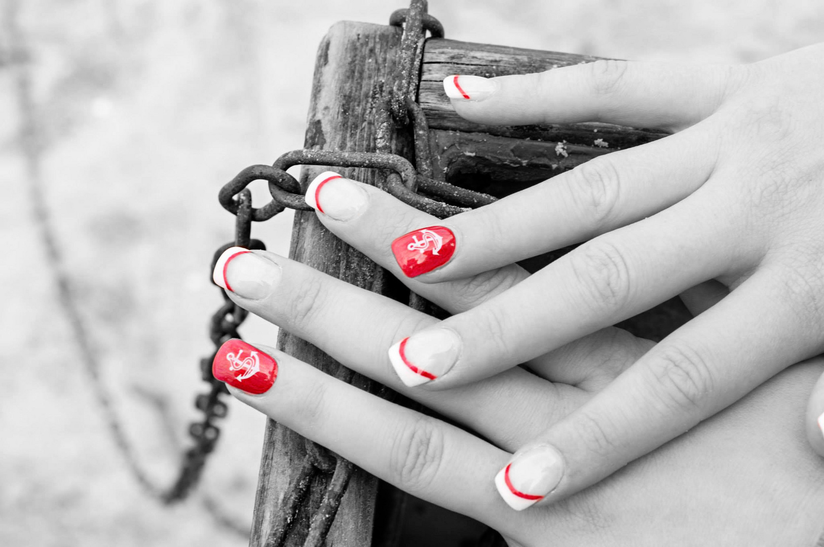 Red Nails | Urlaubs-Nagel-Design
