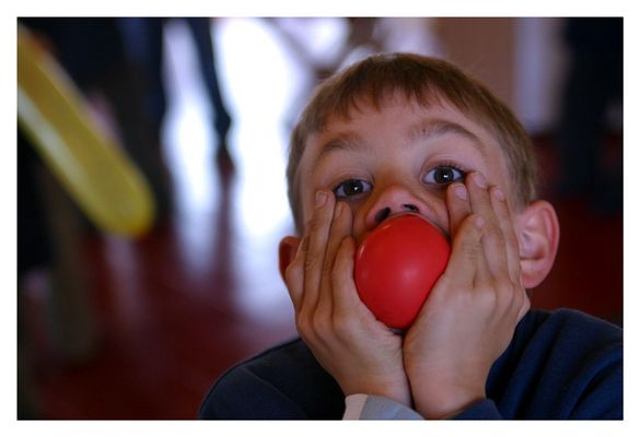 red nose?.....