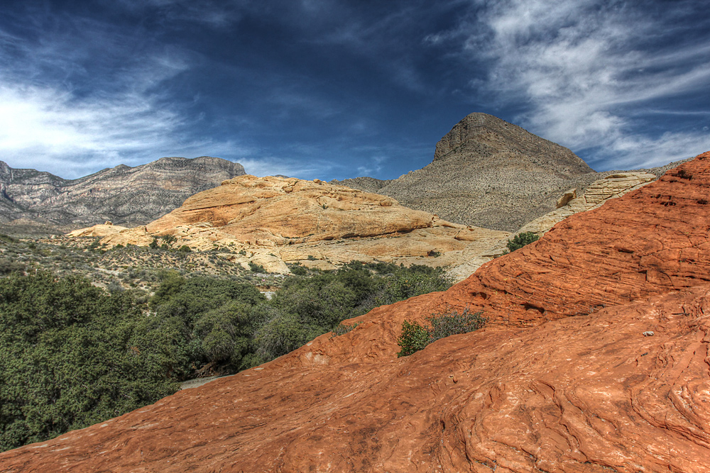Red Rock Canyon HDR (2)