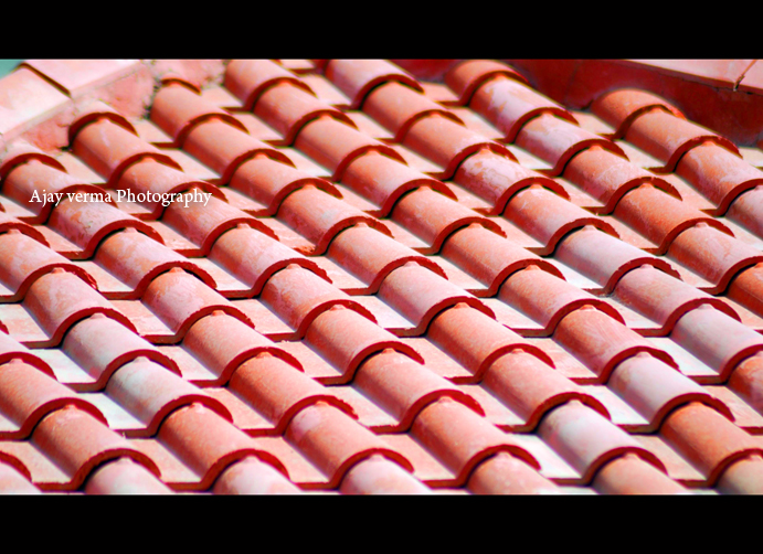 Red roof.