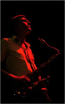 Red Saxophonist