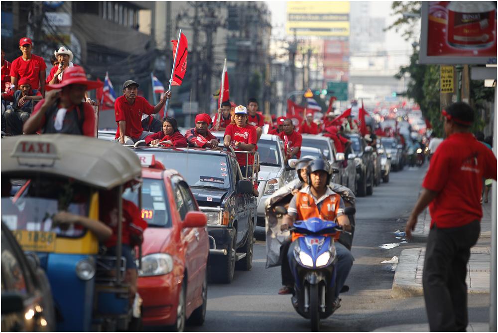Red Shirts in Bangkok VII