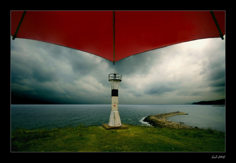 Red Umbrella I
