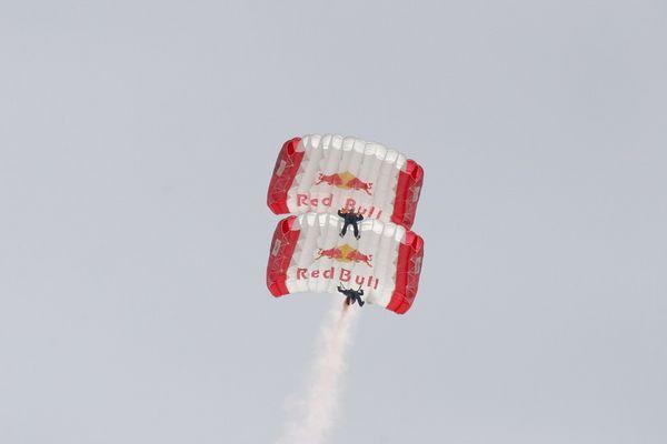 Redbull-Flugshow
