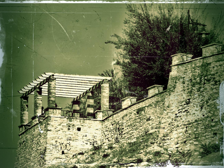 Redonda del paseo de Porcuna (Jaen).