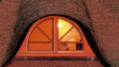 Reeddachfenster