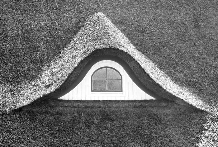 Reetdach-Haus im alten Land