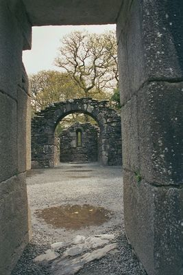 Refert Church in Glendalough/Upper Lake